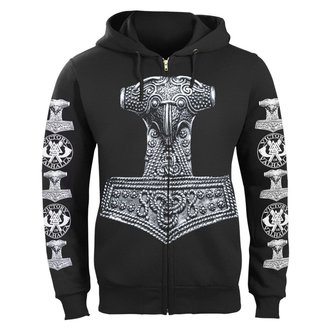 hoodie men's - THOR'S HAMMER - VICTORY OR VALHALLA, VICTORY OR VALHALLA