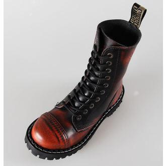 leather boots women's - STEEL - 105/106 Orange