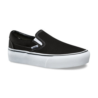 Women's shoes VANS - UA CLASSIC SLIP-ON PLATFORM Black, VANS