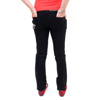 pants women EMILY THE STRANGE - Emily Mad Youth Plaid Stoveppie Jeans - E1080902