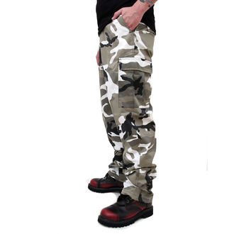 Pants Men's SURPLUS - RANGER TROUSER - WHITE Camo, SURPLUS