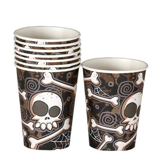 Paper Party Cups - HALLOWEEN BONE