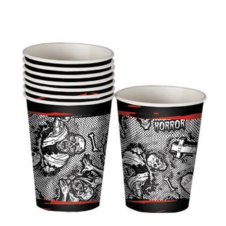 Paper Party Cups ZOMBIE HALLOWEEN