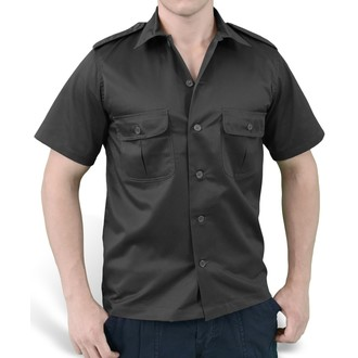 shirt SURPLUS - US Hemd 1/2 - BLACK, SURPLUS