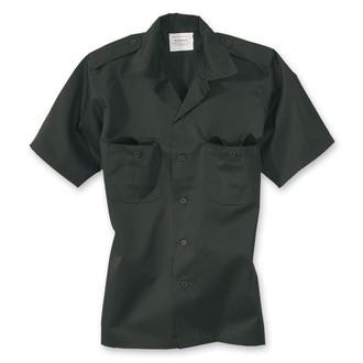 shirt SURPLUS - US Hemd 1/2 - BLACK - 06-3582-03