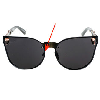 glasses BANNED - ACS900BLK/SKU - DAMAGED, BANNED