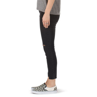 women´s trousers (jeans) VANS - DESTRUCTED SKINNY - Smoke, VANS