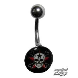 piercing jewel Skull - 1PCS - L 096 - MABR