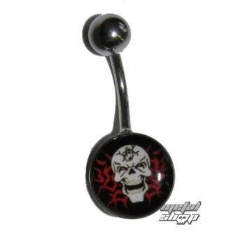 piercing jewel Skull - 1PCS - L 097 - MABR