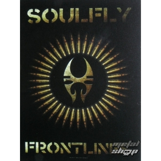 flag Soulfly - Frontlines, HEART ROCK, Soulfly