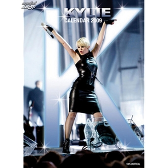 calendar to year 2009 - Kylie Minoque