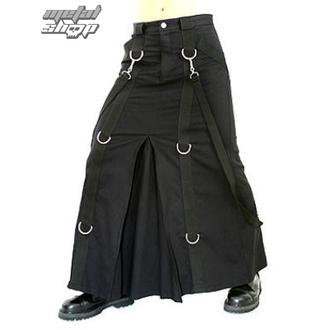 kilt Aderlass - Chain Skirt Denim Black, ADERLASS