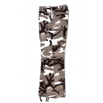Pants Men's SURPLUS - RANGER TROUSER - WHITE Camo - 05-3581-26