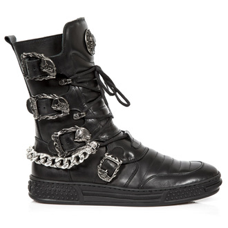 leather boots - PISA NEGRO - NEW ROCK, NEW ROCK