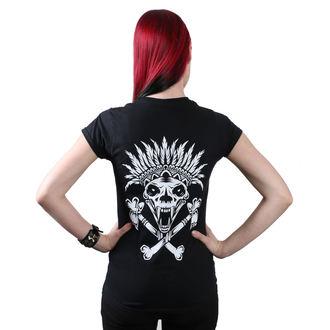 t-shirt hardcore women's - Indian - METAL CHICKS DO IT BETTER, METAL CHICKS DO IT BETTER