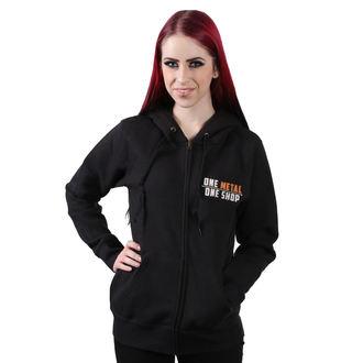 hoodie women's - Black - METALSHOP, METALSHOP