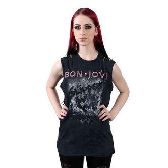 Top Women's BON JOVI - SLIPPERY WHEN WET - PLASTIC HEAD, PLASTIC HEAD, Bon Jovi