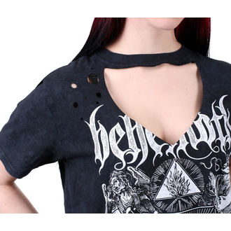 Metal T-Shirt women's Behemoth - SATANIST - PLASTIC HEAD - KU019