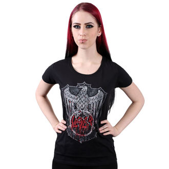 t-shirt metal women's Slayer - Bloody Shield - ROCK OFF, ROCK OFF, Slayer