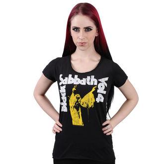 t-shirt metal women's Black Sabbath - BLACK - AMPLIFIED, AMPLIFIED, Black Sabbath
