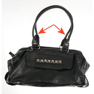 handbag (bag) QUEEN OF DARKNESS - Pyramid - DAMAGED, QUEEN OF DARKNESS