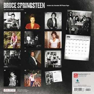 2018 Wall Calendar BRUCE SPRINGSTEEN, Bruce Springsteen