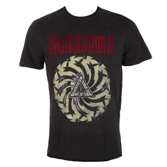 t-shirt metal men's Soundgarden - CHARCOAL - AMPLIFIED, AMPLIFIED, Soundgarden