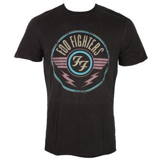 tričko pánské FOO FIGHTERS - CHARCOAL - AMPLIFIED, AMPLIFIED, Foo Fighters