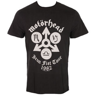 t-shirt metal men's Motörhead - IRON FIST TOUR - AMPLIFIED, AMPLIFIED, Motörhead