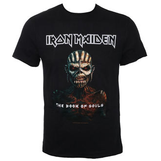 t-shirt metal men's Iron Maiden - THE BOOK OF SOULS BK - AMPLIFIED, AMPLIFIED, Iron Maiden
