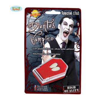 horror teeth VAMPIRE Fangs WITH GLUE