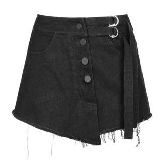Women's shorts  PUNK RAVE - Visual Deception - OPK-221 BK