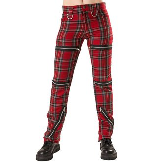 pants women Black Pistol - Destroy Pants Tartan Red - B-1-20-060-04