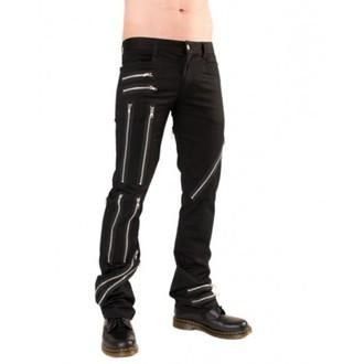 pants men Black Pistol - Zipper Pants Denim Black - B-1-25-001-00