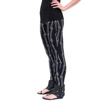 leggings women - EMILY THE STRANGE - Emily (E2081605) STRANGE Bones leggins