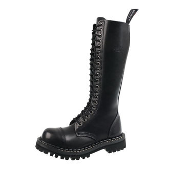 leather boots unisex - STEADY´S - STE/20_black