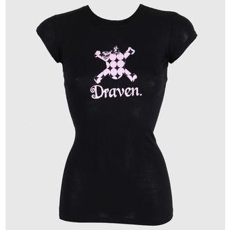 t-shirt street women's - Polkaskull - DRAVEN, DRAVEN