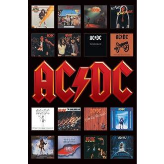 poster - AC/DC (Album Covers) - PP30748, PYRAMID POSTERS, AC-DC