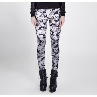 Women's trousers (leggings) PUNK RAVE - Skulls, PUNK RAVE