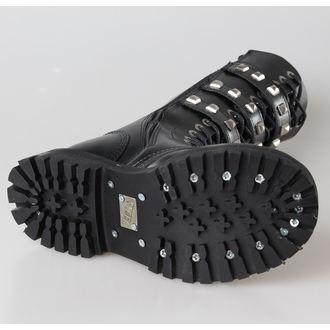 leather boots women's - STEEL - PIRAMID