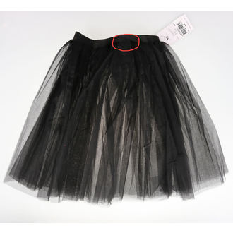 skirt women's Poizen Industries - COR MIDI TUTU - BLACK - DAMAGED, POIZEN INDUSTRIES