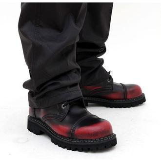 leather boots - - KMM - Black/Red, KMM