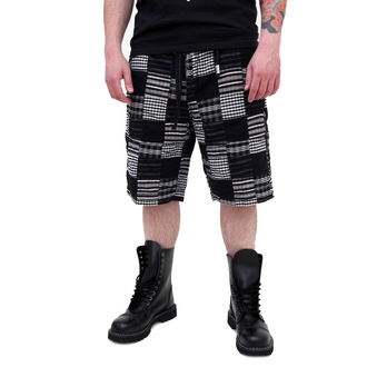 shorts men SURPLUS - KILBURN SHORTS - BLACK, SURPLUS