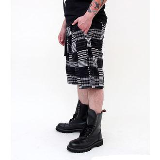 shorts men SURPLUS - KILBURN SHORTS - BLACK, SURPLUS