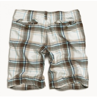 shorts men SURPLUS - KILBURN SHORTS - WHITE, SURPLUS