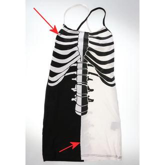 Dress Women's Heartless - FRACTURE - BLACK / WHITE - DAMAGED, HEARTLESS