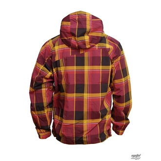 jacket men spring/fall Horsefeathers - Linear - Ruby CHECK
