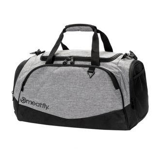 Duffel bag MEATFLY - ROCKY 2 DUFFLE - A 4/1/55 - Heather Grey / Black - MEAT177