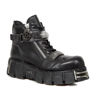 leather boots men's - VEGAN NEGRO VEGAN, VEGAN NEGRO - NEW ROCK, NEW ROCK