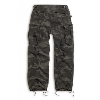 pants SURPLUS - Vintage - BLACK CAMO, SURPLUS